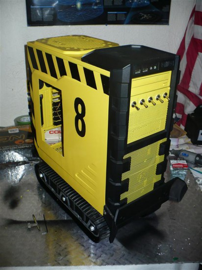 Внешний вид моддинг проекта AMD Bulldozer 8-Core Tribute на данный момент