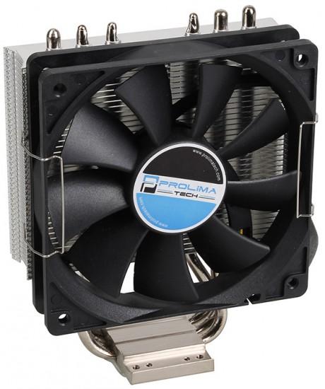 Общий вид процессорного кулера Prolimatech Lynx в три четверти