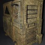 Вид на проект AzTtec Thermaltake Level 10 GT Mayan Mod в три четверти