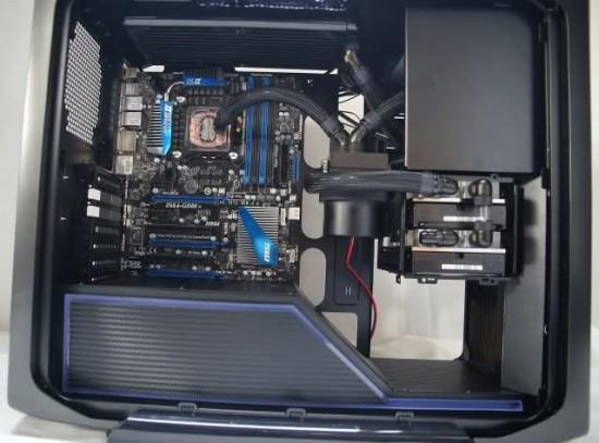 Моддинг проект Corsair Graphite 600T MbK от моддера kier