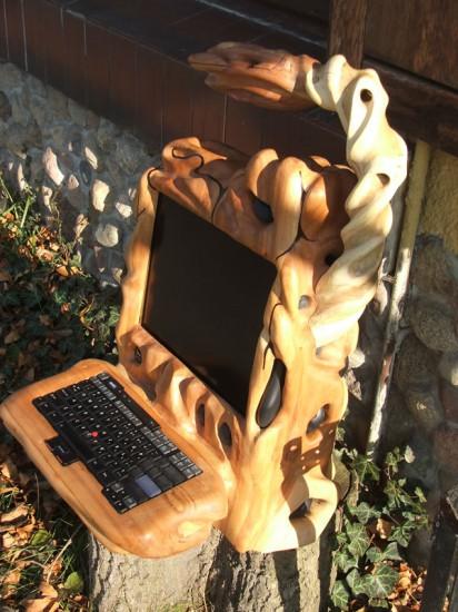 Моддинг проект Organic II Home Linux Server от моддера awadon