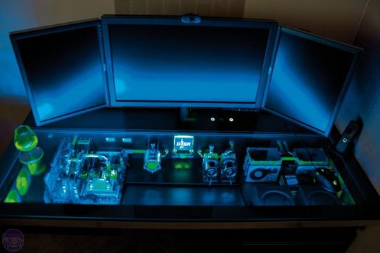 Моддинг проект L3p D3sk - Silent Workstation от моддера Peter Brands (l3p)