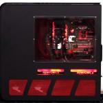 Вид сбоку на ASUS ROG-TJ11 Diablo III Edition