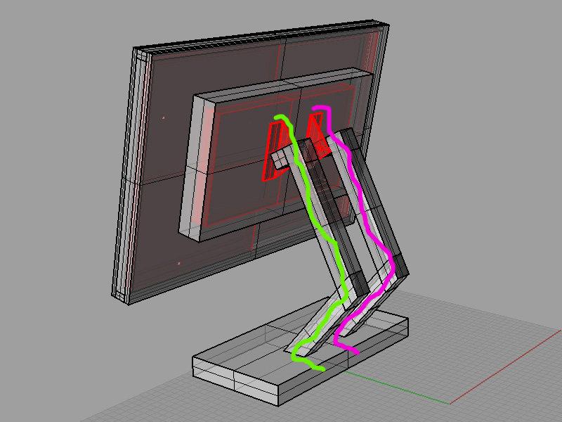 Схема конструкции корпуса для