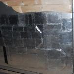 В процессе установки алюминиевой чешуи