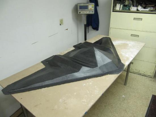 Одна из карбоновых деталей в моддинг проекте SR-X