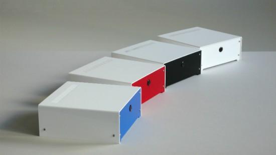 Варианты корпуса с панелями разного цвета