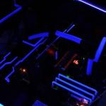 Внутренности проекта с УФ подсветкой