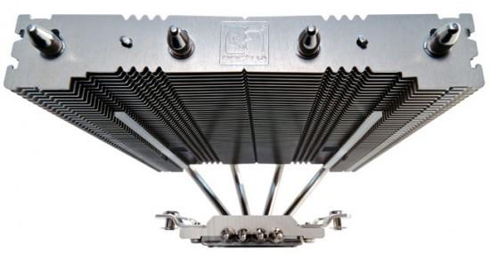 Общий вид кулера Noctua NH-L12 без установленных вентиляторов