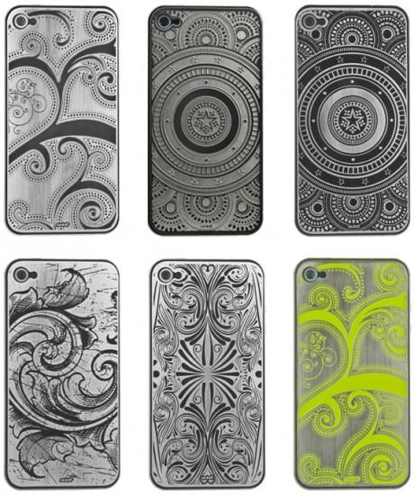 Некоторые варианты дизайна панелей Skinit Etched Metal Plates