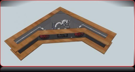 Рендер моддинг проекта Interior Des(k)ign от моддера wejjy