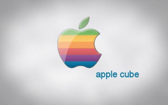 Логотип проекта Apple Cube