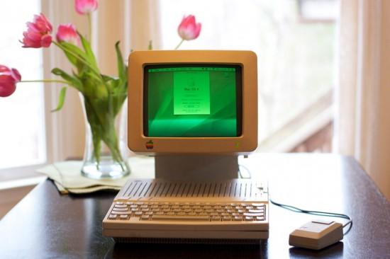 Внешний вид готового моддинг проекта G4 Apple IIc