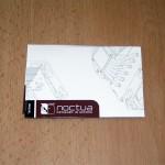 Конверт-книжка с инструкциями по установке