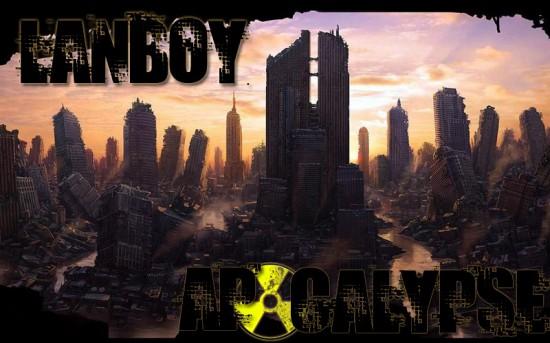 Тематический артворк для проекта Lanboy - Apocalypse