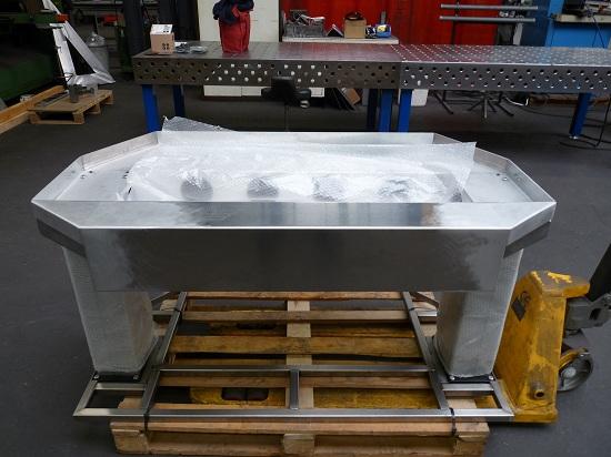 Столешница из алюминия для проекта The Next Level практически готова