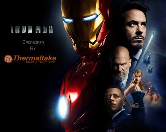 Артворк к моддинг проекту Iron Man Case Mod