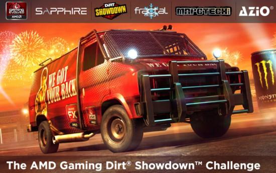 Артворк по моддинг проекту Dirt Showdown