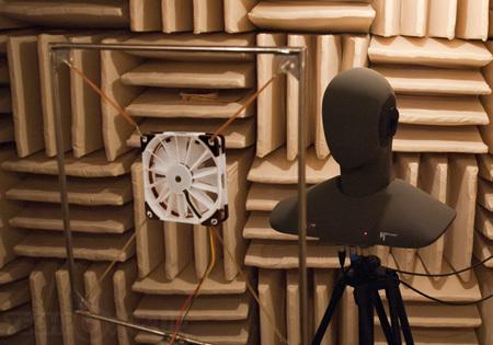 Прототип нового вентилятора Noctua с технологией RotoSub ANC