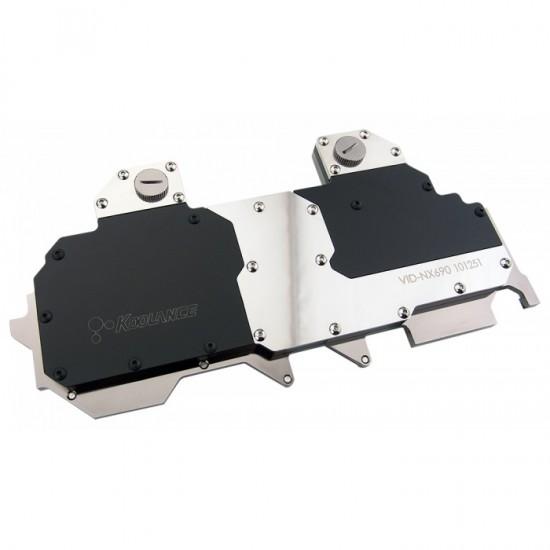 Общий вид фулкавер ватерблока Koolance VID-NX690