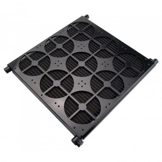 Общий вид радиатора Koolance HX-CU1080 для систем водяного охлаждения