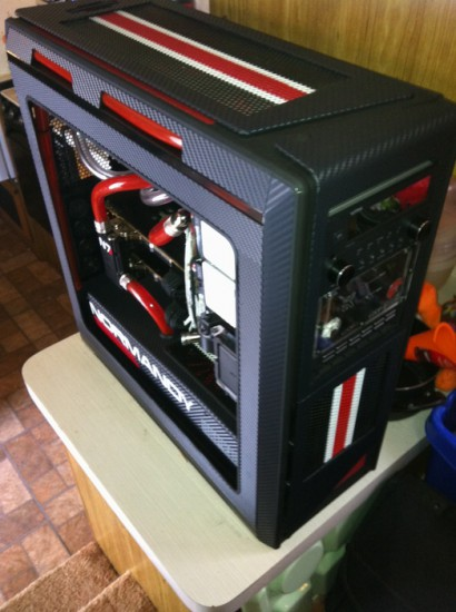Моддинг проект Mass Effect 3 - NZXT Switch 810 Build от моддера mybadomen