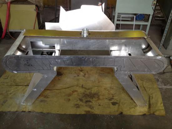 Моддинг проект Omega Desk от моддера Squigly