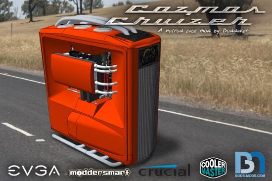 Трехмерный рендер будущего проекта Cosmos Cruizer