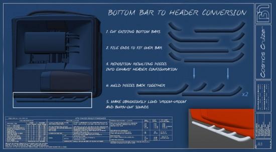Планы по переделке ножек компьютерного корпуса