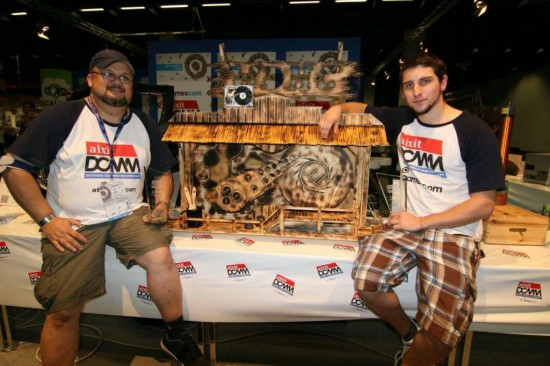 Abbas-IT and Johannes Loew with their WDHC modding project