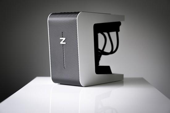Общий вид на моддинг проект ZOE спереди справа