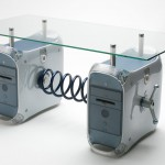 A variant of the table that was made using older Power Mac G4 models