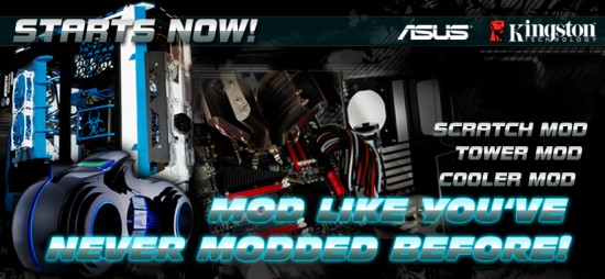 The official banner of the Cooler Master Case Mod Competition 2012