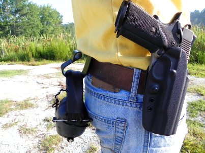 The Kydex Hearing Protection Hanger