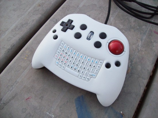 The finished KeyBall Controller V2 by dufentech