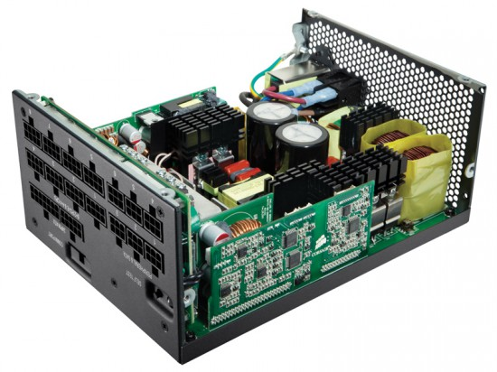 Inside the Corsair AX1200i PSU