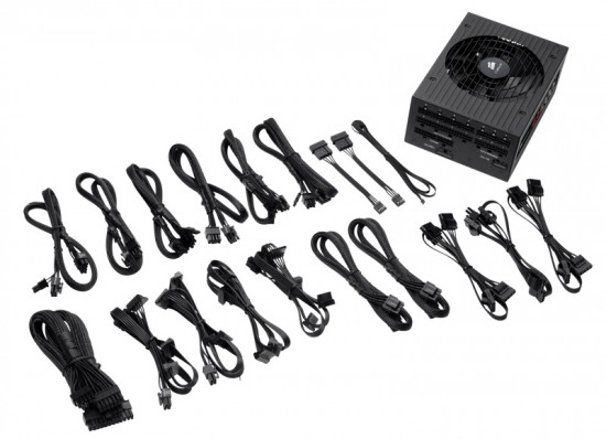 All of those modular cables, that come bundled with this PSU