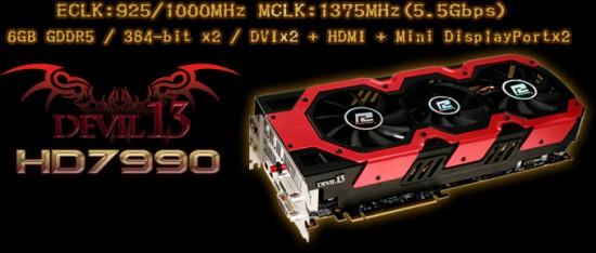 Главный приз конкурса —видеокарта PowerColor HD 7990 Devil 13 6 GB