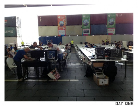 The venue of Campus Party Berlin 2012