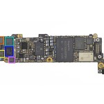 "The ""motherboard"" of iPhone 5"
