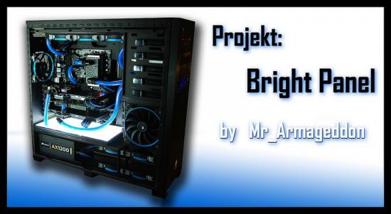 Законченный моддинг проект Bright Panel от моддера Mr_Armageddon