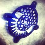 Кастомный гриль с символикой проекта
