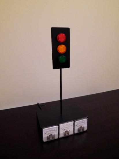Обший вид игрового светофора Xbox Live Traffic Lights