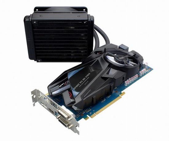 Общий вид видеокарты ELSA GeForce GTX 680 Hybrid