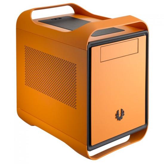 Вид в три четверти на оранжевую версию корпуса BitFenix Prodigy