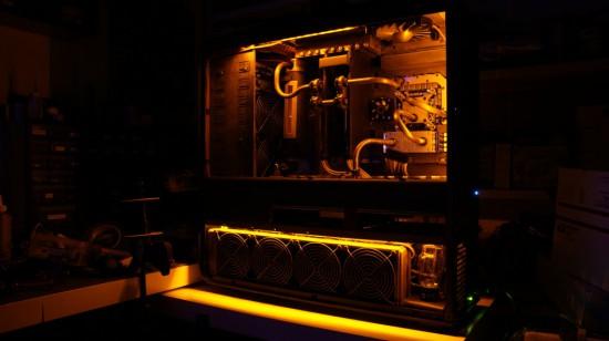 Моддинг проект Steampunk'd TJ11 от моддера Fuganater на данном этапе