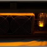 Вакуумная радиолампа со светодиодной подсветкой