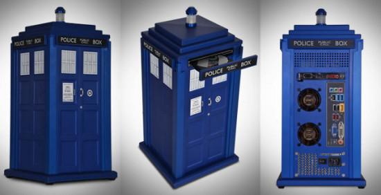 Компьютер TARDIS System от магазина Scan с разных ракурсов