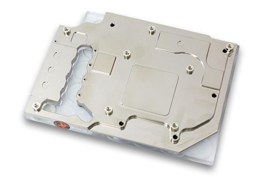 Вид снизу на ватерблок EK Water Blocks EK-FC660 GTX