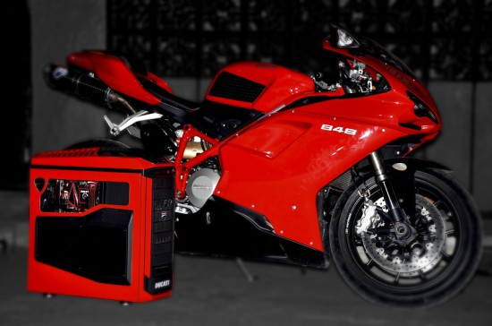 Моддинг проект Ducati Trooper от моддера Raiden73